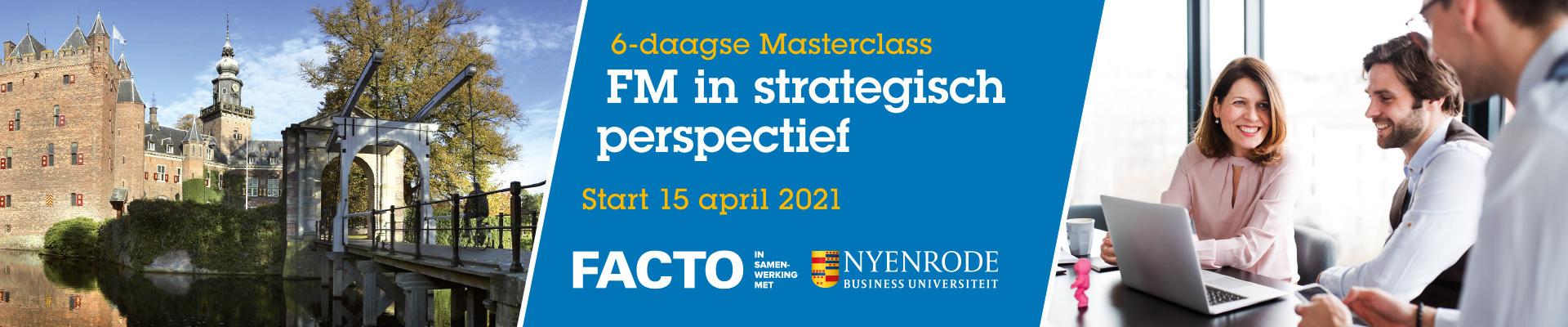 Facto Masterclass FM in strategisch perspectief 2021