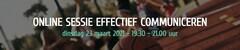 Online Sessie Effectief Communiceren