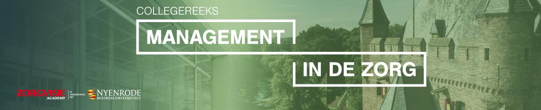 Collegereeks Management in de zorg | 1 september 2021