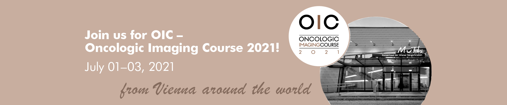 OIC - Oncologic Imaging Course 2021