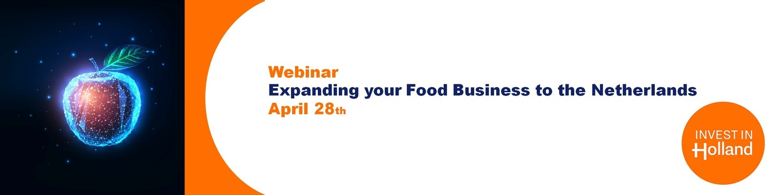 Webinar Expanding your food business to the Netherlands