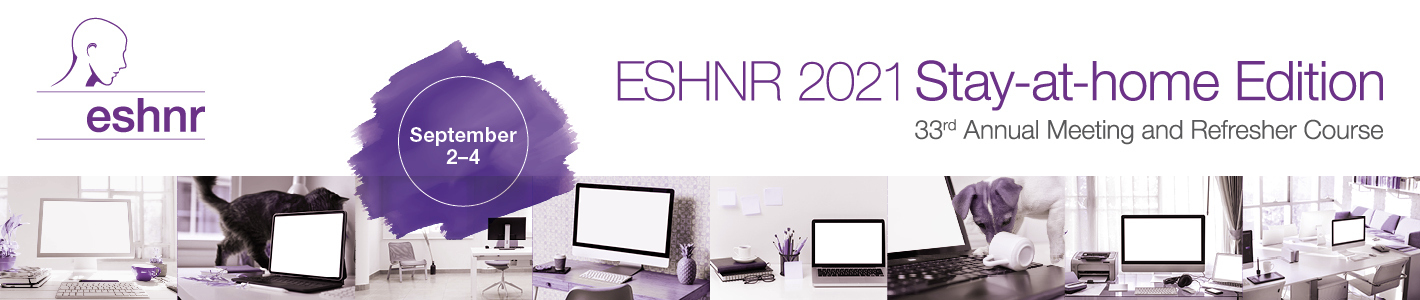 ESHNR 2021 Annual Scientific Meeting