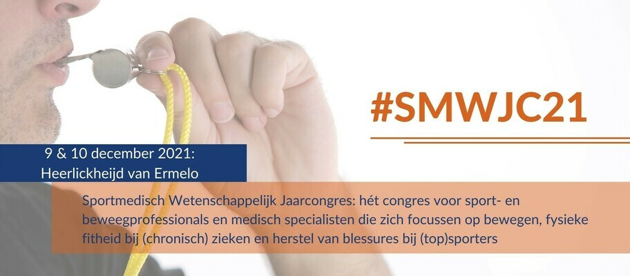 SMWJC21  Sportmedisch Wetenschappelijk Jaarcongres