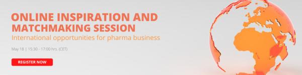 Online Inspiration Session | International opportunities for Pharma Business