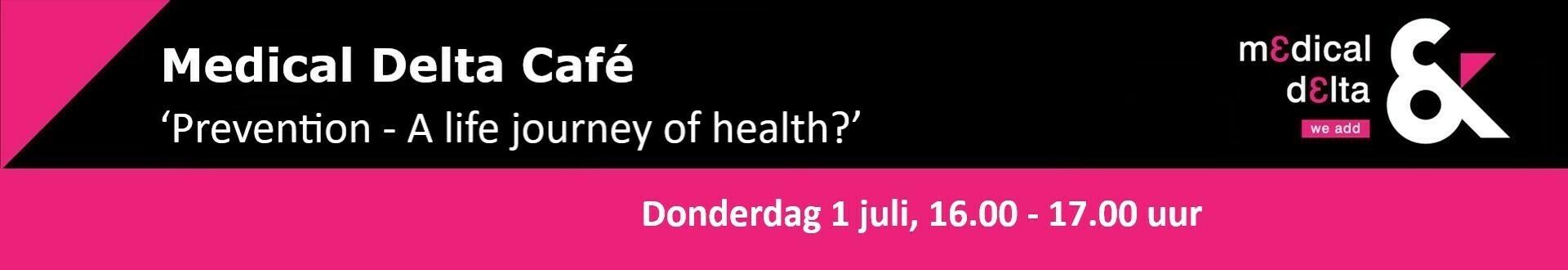 Medical Delta Café donderdag 1 juli 2021
