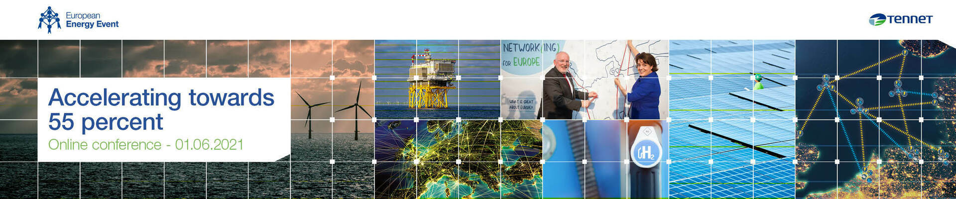 TenneT European Energy Conference 'Accelerating towards 55 percent'
