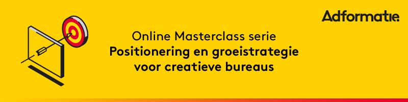 Masterclass Positionering en groeistrategie voor creatieve bureaus