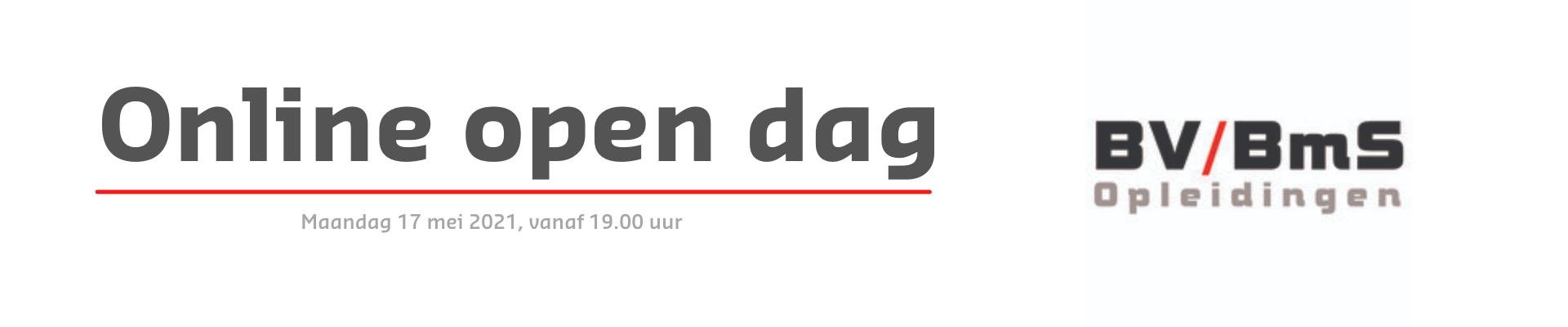 Online open dag BV / BmS Opleidingen