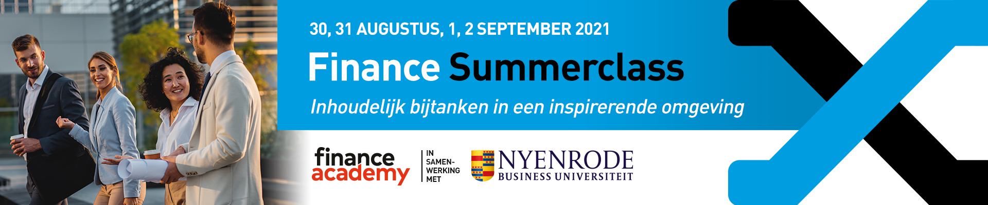 Finance Summer Classes 30 augustus t/m 2 september 2021