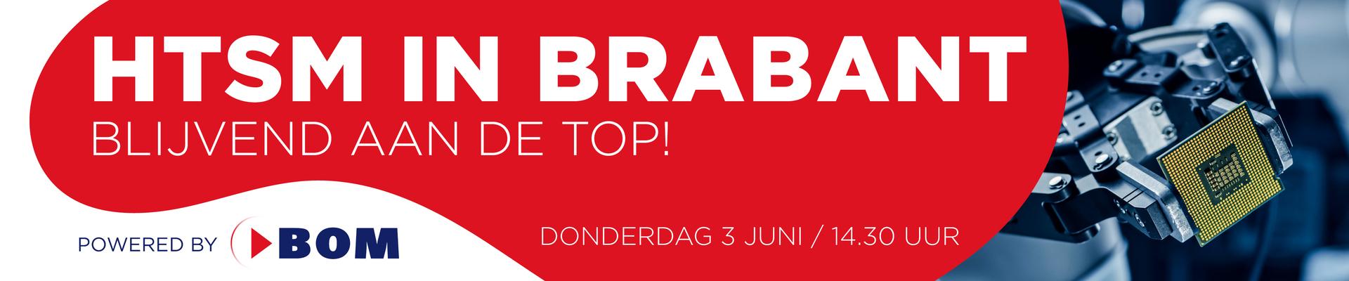 """Webinar """"HTSM Brabant blijvend aan de top"""""""