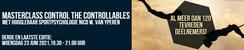 Masterclass Control the controllables - juni