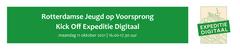 Rotterdamse jeugd op voorsprong | Kick Off Expeditie Digitaal