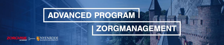 Advanced Program Zorgmanagement | 9 maart 2022