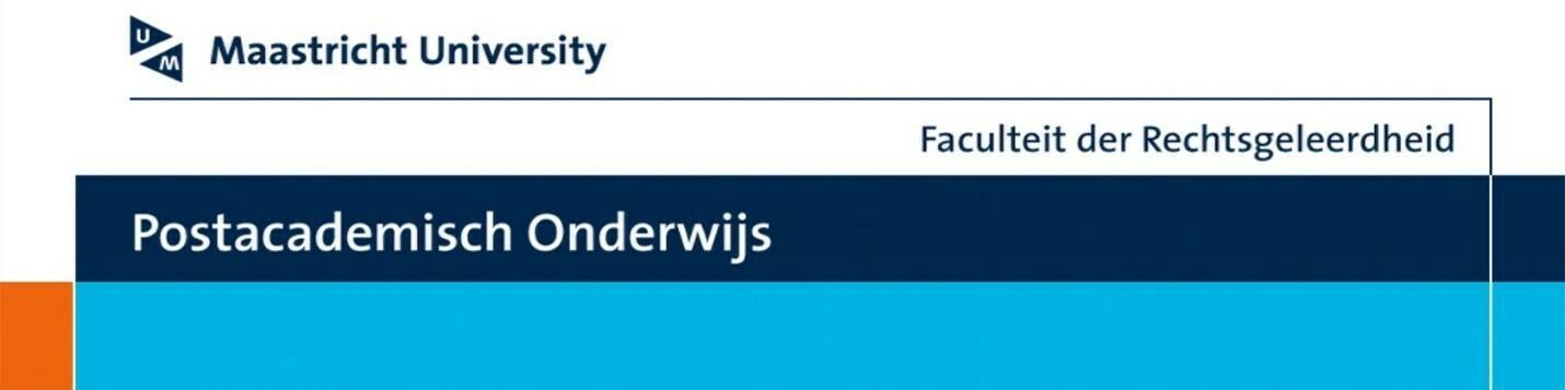 PAO CURSUS Nieuw Recht 7 & 16 dec. 2021