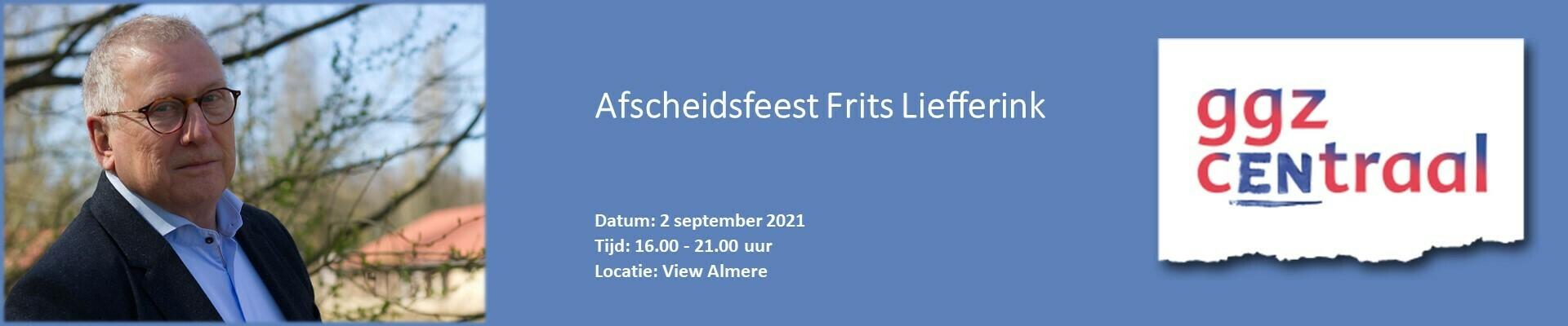 Afscheidsfeest Frits Liefferink