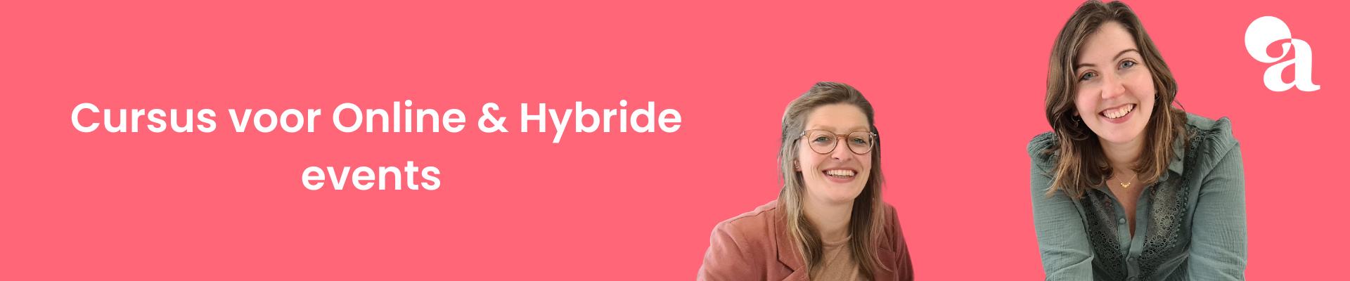 Cursus voor Online & Hybride events (november groep)