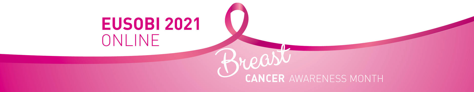 EUSOBI 2021 ONLINE in the Breast Cancer Awareness Month