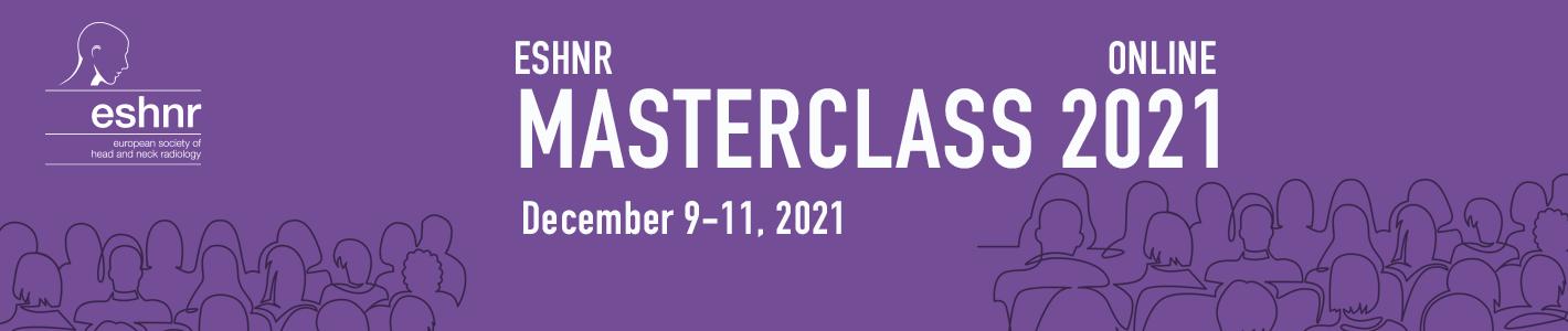ESHNR 2021 Masterclass