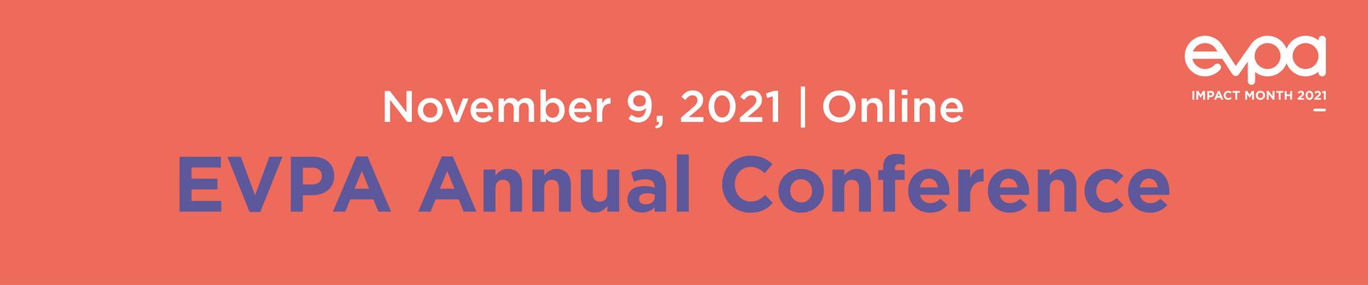 EVPA Annual Conference 2021