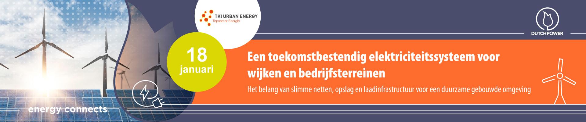 Matchmaking: Een toekomstbestendige elektriciteitssysteem voor wijken en bedrijfsterreinen