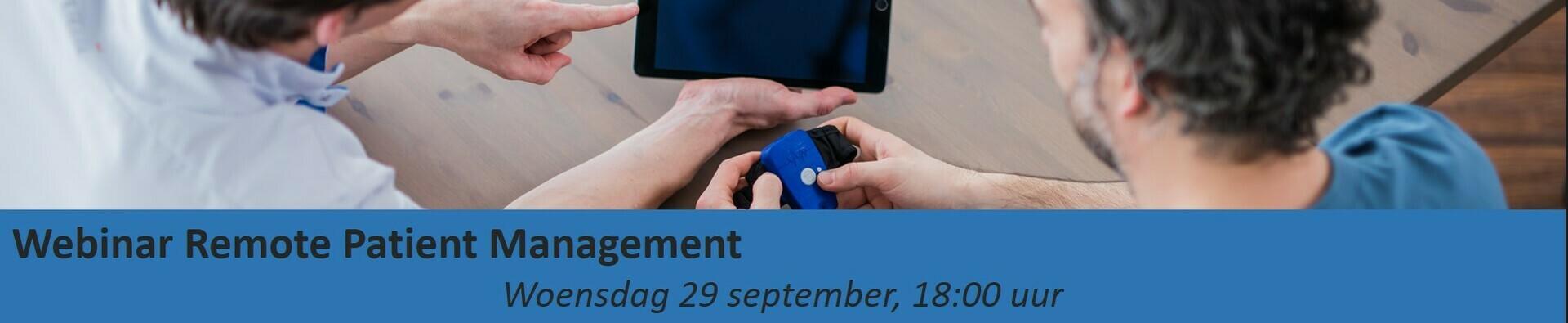 Webinar Remote Patient Management