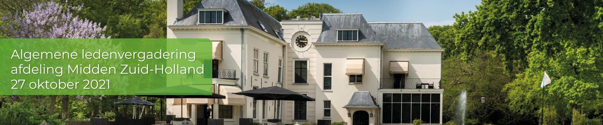 Algemene ledenvergadering afdeling Midden Zuid-Holland