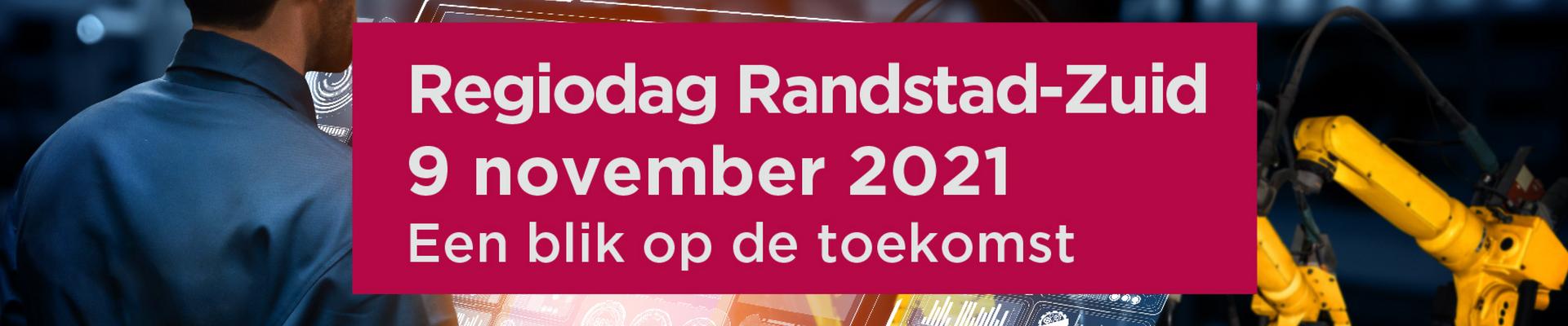 Regiodag Regio Randstad Zuid