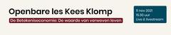 Openbare les Kees Klomp