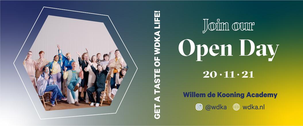 Open Day Willem de Kooning Academy