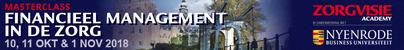 Masterclass Financieel management in de zorg | 10 oktober 2018