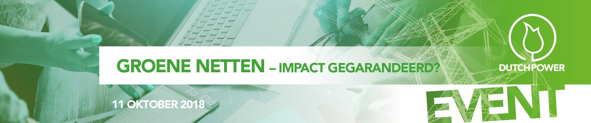 Groene Netten - Impact gegarandeerd?